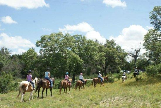 The Sugar & Spice Ranch : Trail riding!