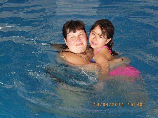 Sandman Hotel Montreal-Longueuil : ma fille et moi