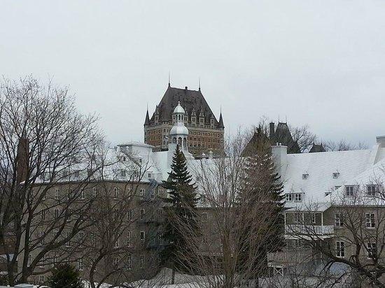 Hotel Jardin Ste-Anne: View from Balcony