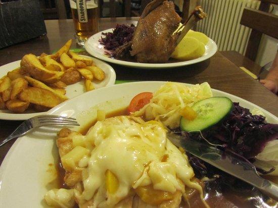 V Cipu : Еда