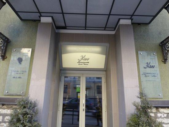 Kreutzwald Hotel Tallinn: 入口
