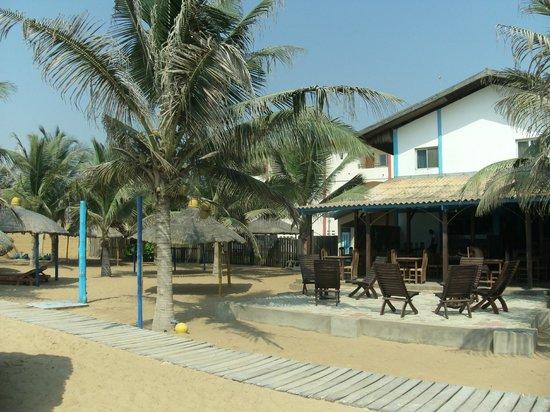 Hotel Coco beach: bijna atijd goed weer
