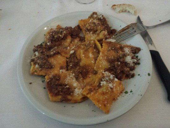 Ristorante La Cavallina : Tortelli di patate Mugellani