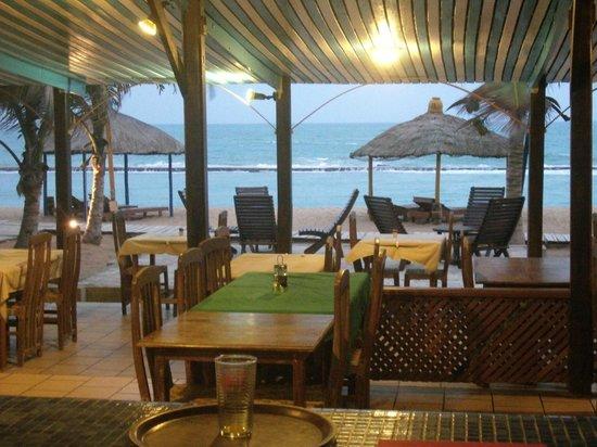 Hotel Coco beach: leuk uitzicht tijdens diner
