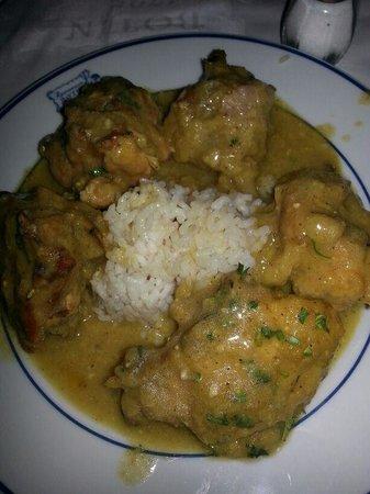 Sobrino de Botin : pollo a la pepitoria