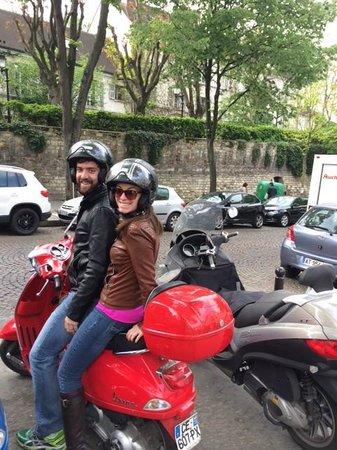 Left Bank Scooters: Montmartre
