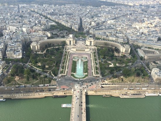 Tour Eiffel : View from the summit