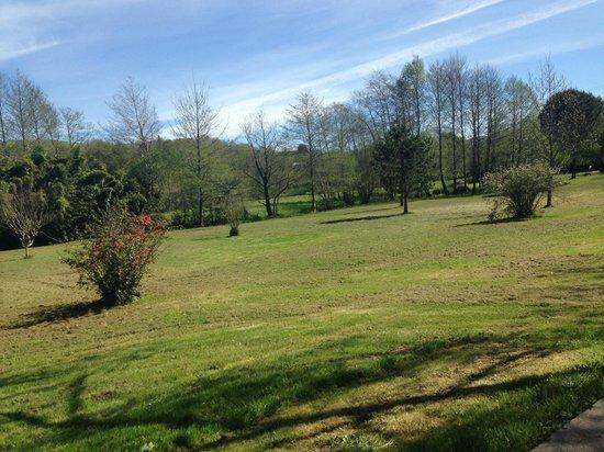 Domaine de Silencenia : parc