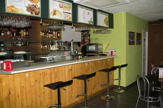 Café Bar Panamericana: Barra del bar
