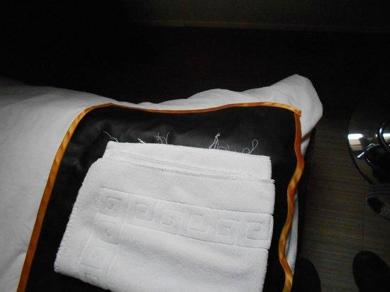 Hostal Oxum : Etat des serviettes