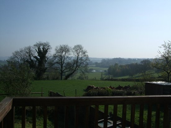 The Rock B&B: view from Ruardean studio balcony