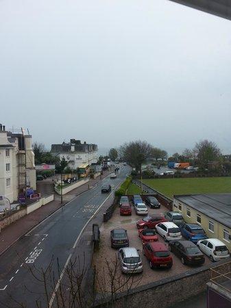 John Burton-Race Restaurant & Rooms: view from bedroom