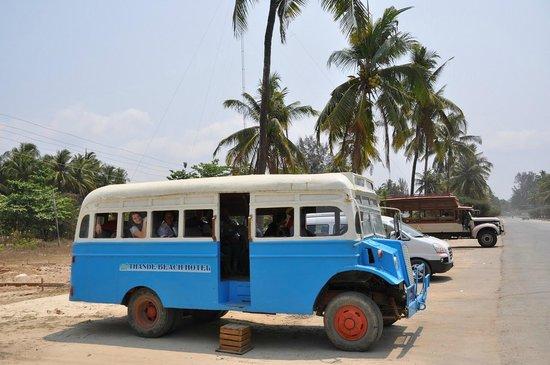 Thande Beach Hotel : Transport vom Flughafen zum Hotel