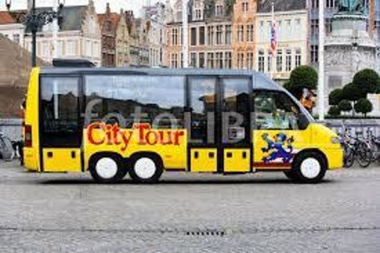 In Bruges Events - Day Tours: city tour bus