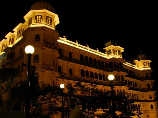 Fateh Prakash Palace: Palace Complex At Night