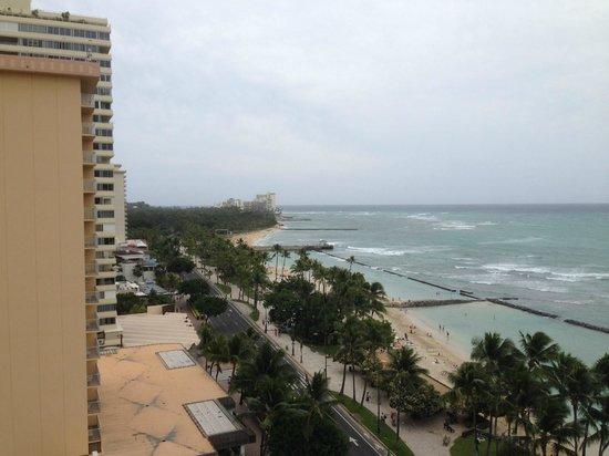 Aston Waikiki Circle Hotel: View from room