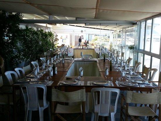 Bagni Giovanni SeaSide Restaurant : Sala vista Mare