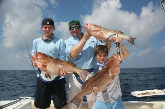 Another Keeper Charters : Red grouper fishing