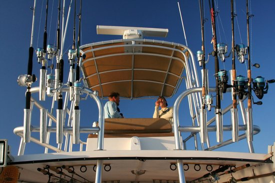 Another Keeper Charters : Geared up and ready to fish!