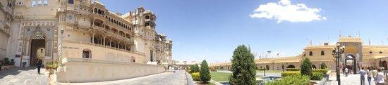 Fateh Prakash Palace: City Palace Museum Panoramic View