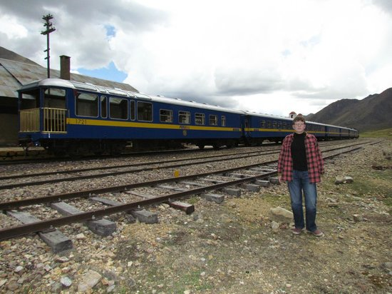 PeruRail Titicaca: At the highest point of the route, some 4000 mts above the sea level