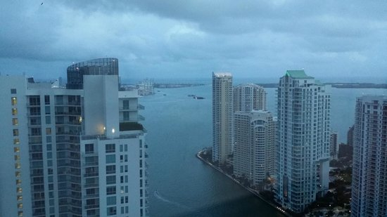 Hotel Beaux Arts Miami: A view of the bay.