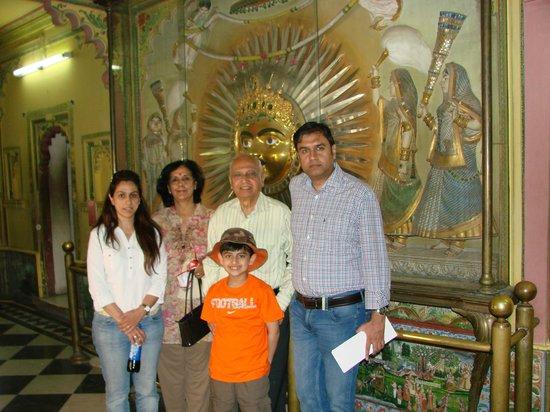 Fateh Prakash Palace: City Palace Museum Tour