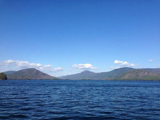 The Sagamore Resort : Lake George view north