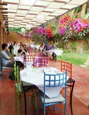 Les jardins du gueliz marrakech restaurant avis num ro for Restaurant jardin marrakech