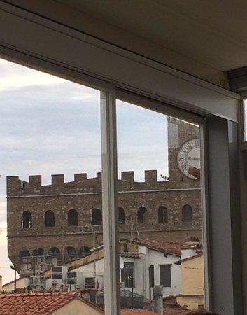 Hotel Della Signoria: Colazione con vista!
