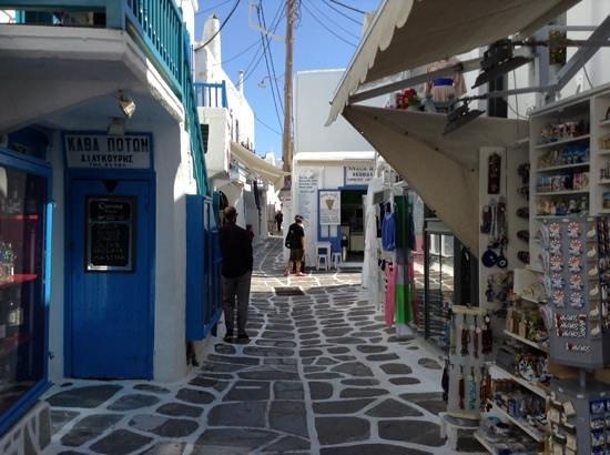 Olia Hotel: Little Venice, Mykonos, Greece