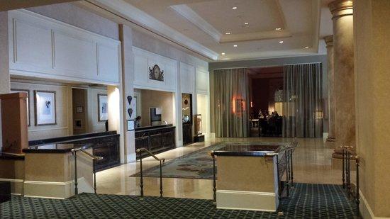 The Fairmont Dallas: The Lobby