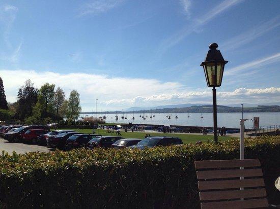 Hotel Schiff Am See: Die Aussicht