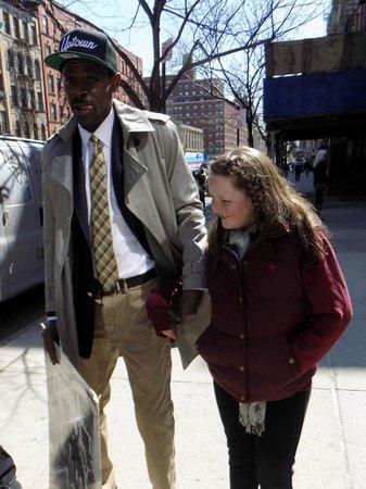 Harlem Heritage Tours: Ellen with Neil