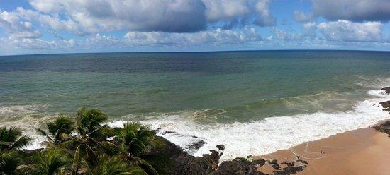 Mercure Salvador Rio Vermelho : Vista do quarto do Mercure. 5 andar.