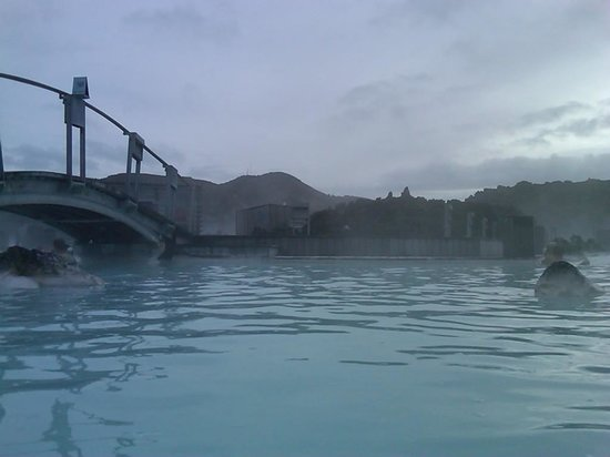 Blue Lagoon Iceland : In the lagoon