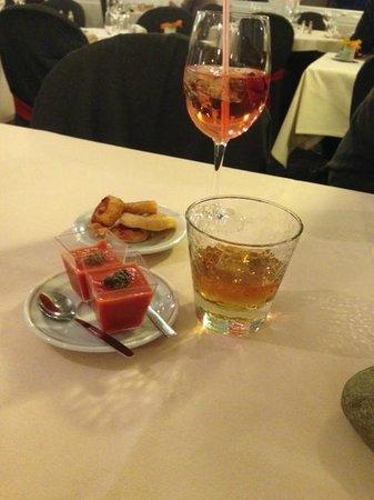 Le Rabelais Hôtel -Restaurant -SPA : Vue apéritif