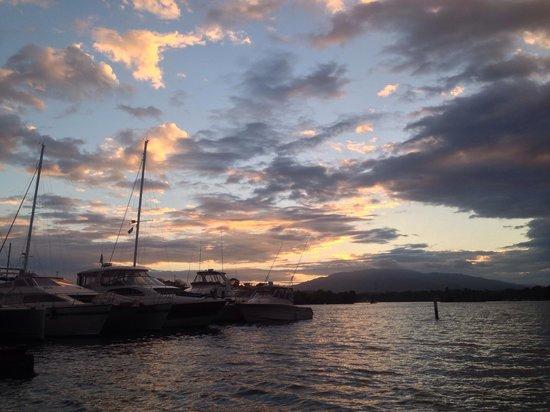 Hotel Marina & Yacht Club Nana Juana: Rio dulce view from nana juana