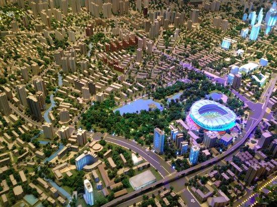 Shanghai Urban Planning Exhibition Hall: Макет