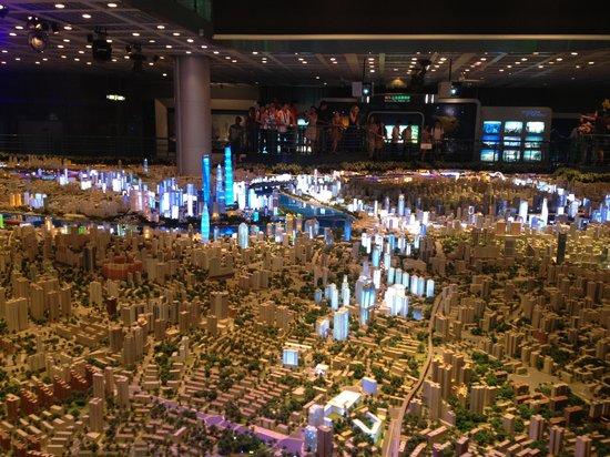 Shanghai Urban Planning Exhibition Hall: Макет2