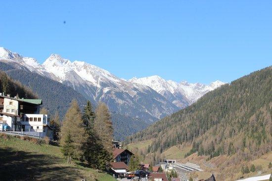 Der Waldhof: vue depuis notre balcon