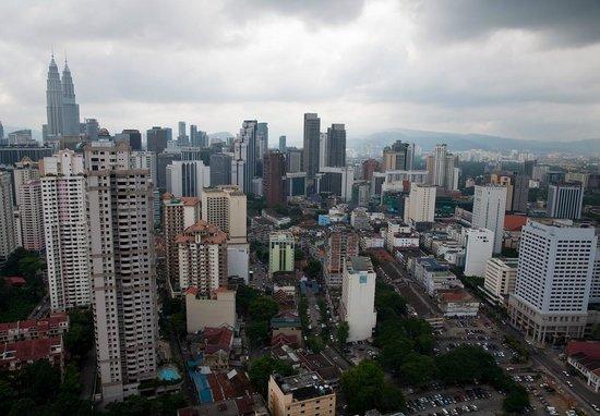 The Residences @ Swiss-Garden Hotel & Residences Kuala Lumpur: Вид из отеля