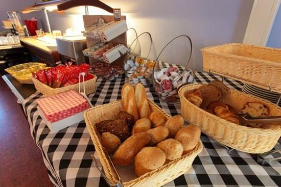 H2OTEL Rotterdam : Breakfast room
