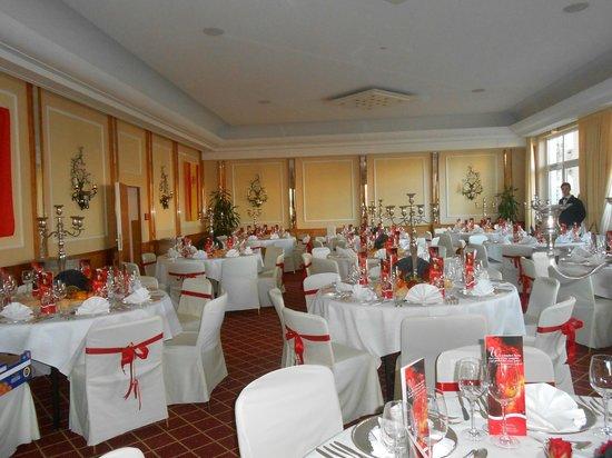 Hotel Bayerischer Hof: Préparation  Réveillon St Sylvestre