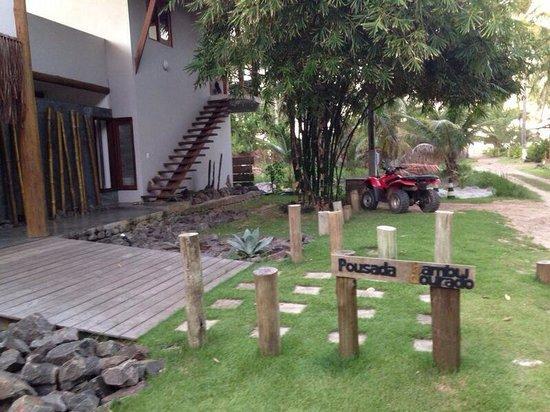 Pousada Bambu Dourado : Entrada da pousada