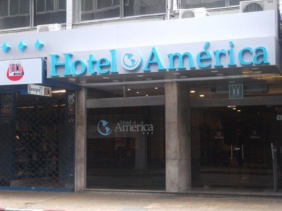Hotel América: Fachada