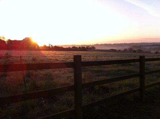 Holiday Inn Leeds Bradford: Early morning view