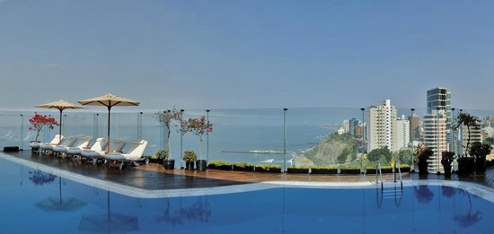 Belmond Miraflores Park: Pool view in March 2014