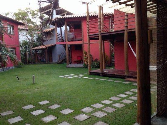Pousada Bambu Dourado : Área externa