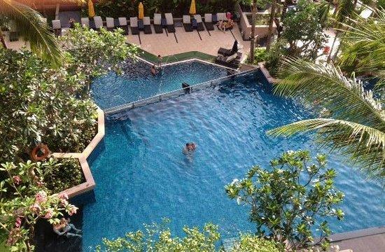 Novotel Phuket Kata Avista Resort and Spa: View from 4th floor balcony